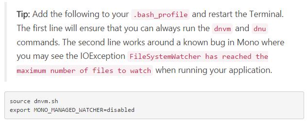 Bash tip