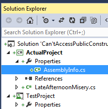 Assembly info file in your project